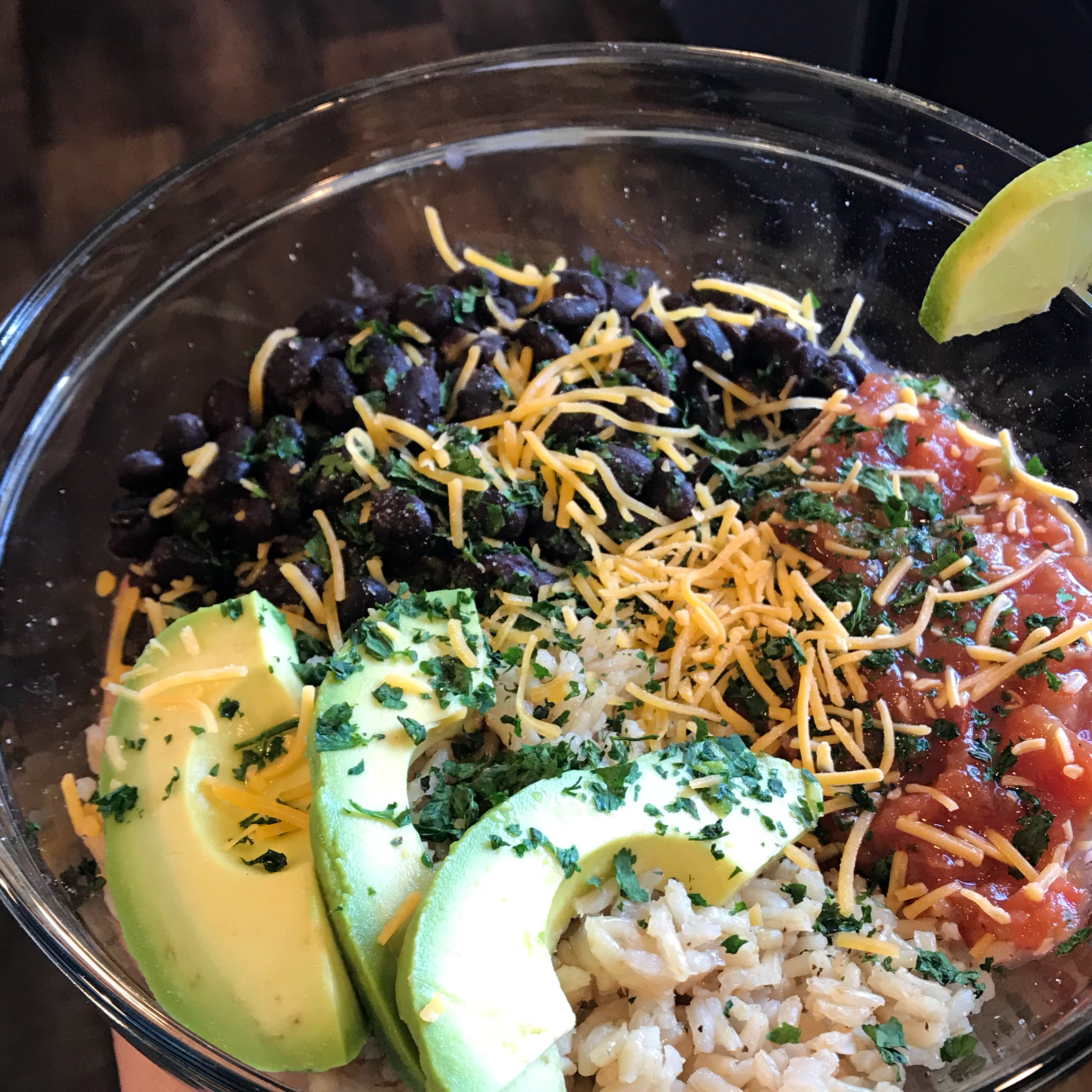 Brown Rice Bean Burrito Bowl MonicaLois