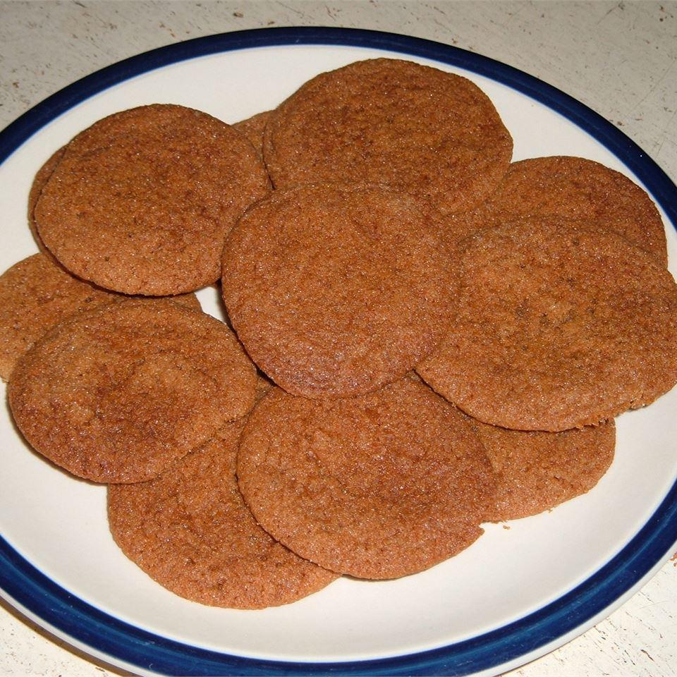 Molasses Sugar Cookies II Franie