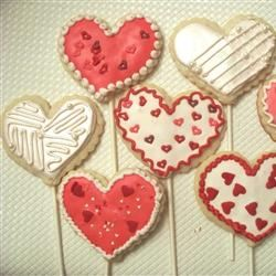 Lollipop Cookie Valentines