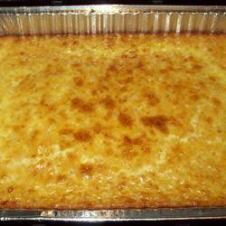 White Corn Pudding