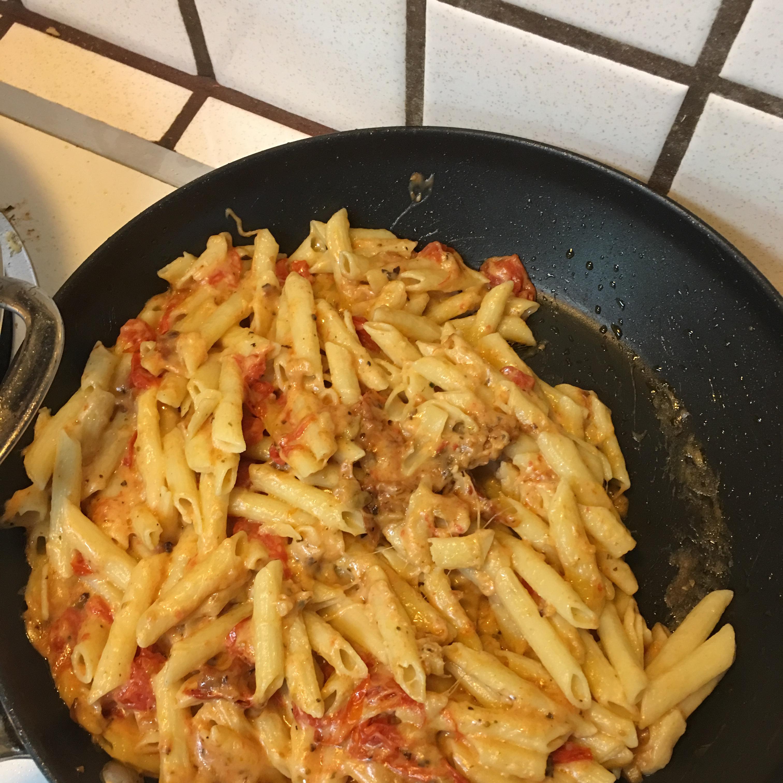 Tomato Basil Penne Pasta Jugganot