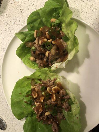 ground turkey lettuce wraps recipe