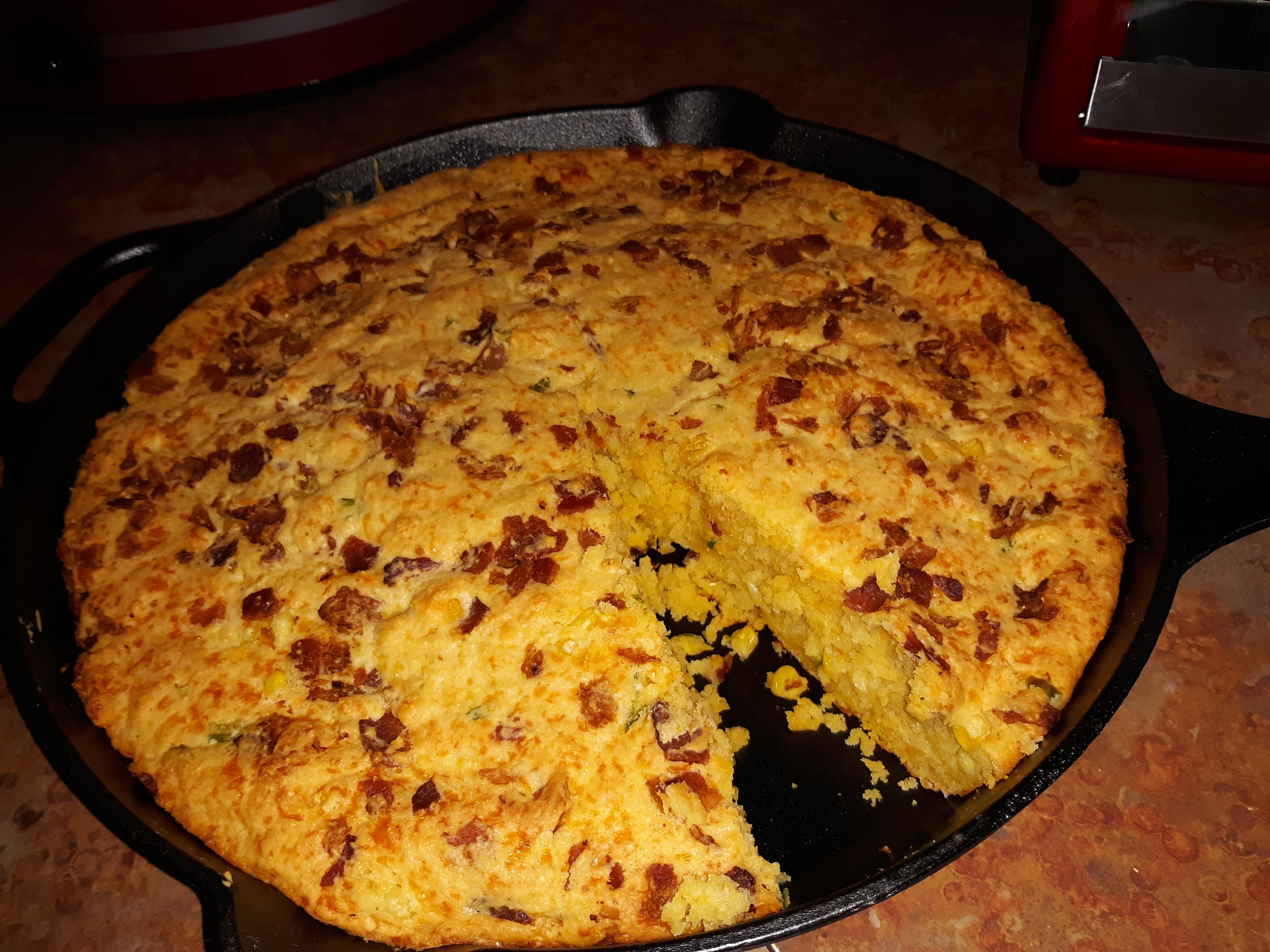 Bacon Cheddar Jalapeno Cornbread