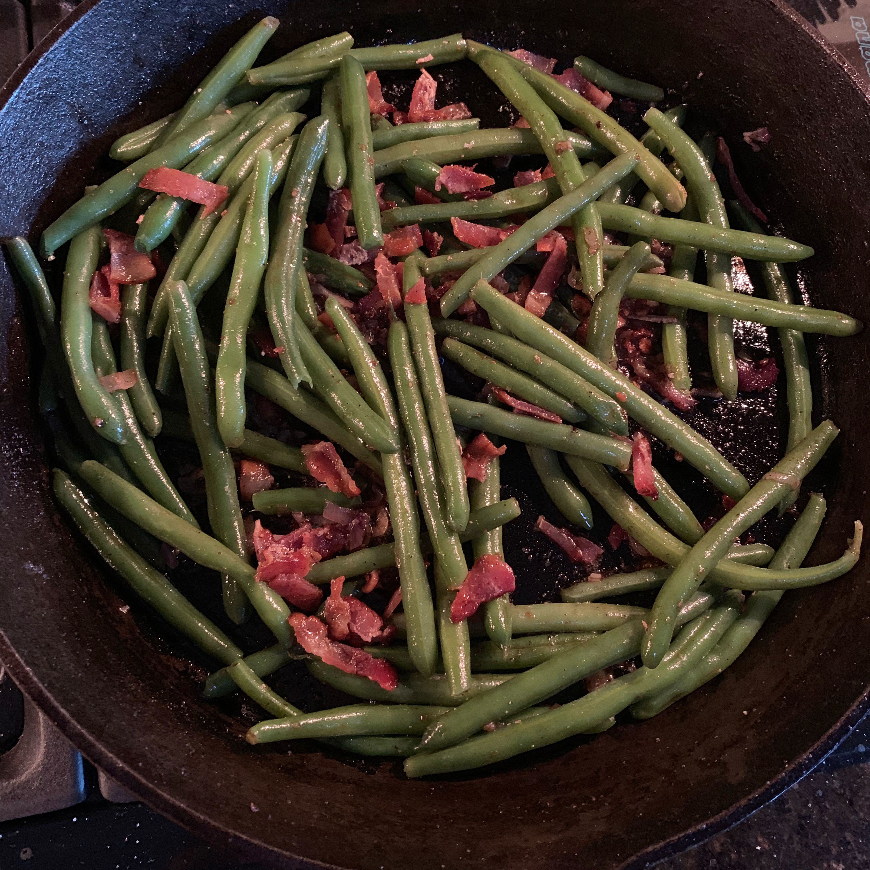 Savory Green Beans Chelsey