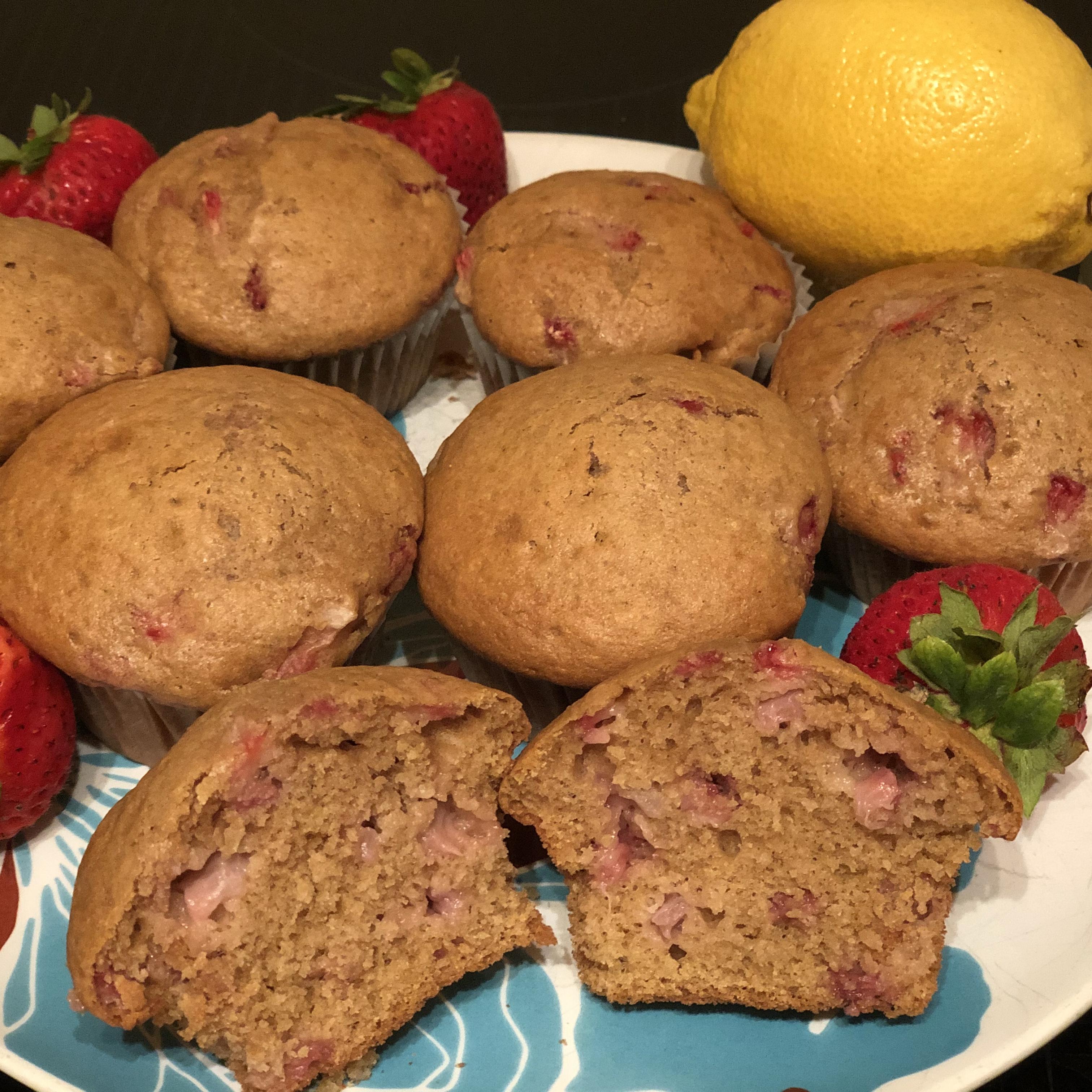 Strawberry Lemonade Muffins MagdaCooks