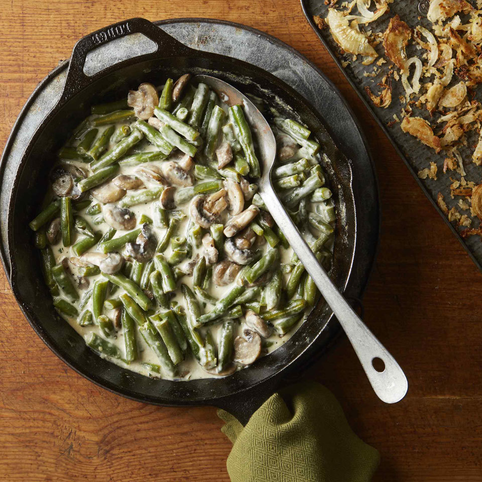 Skillet Green Bean Casserole Hilary Meyer