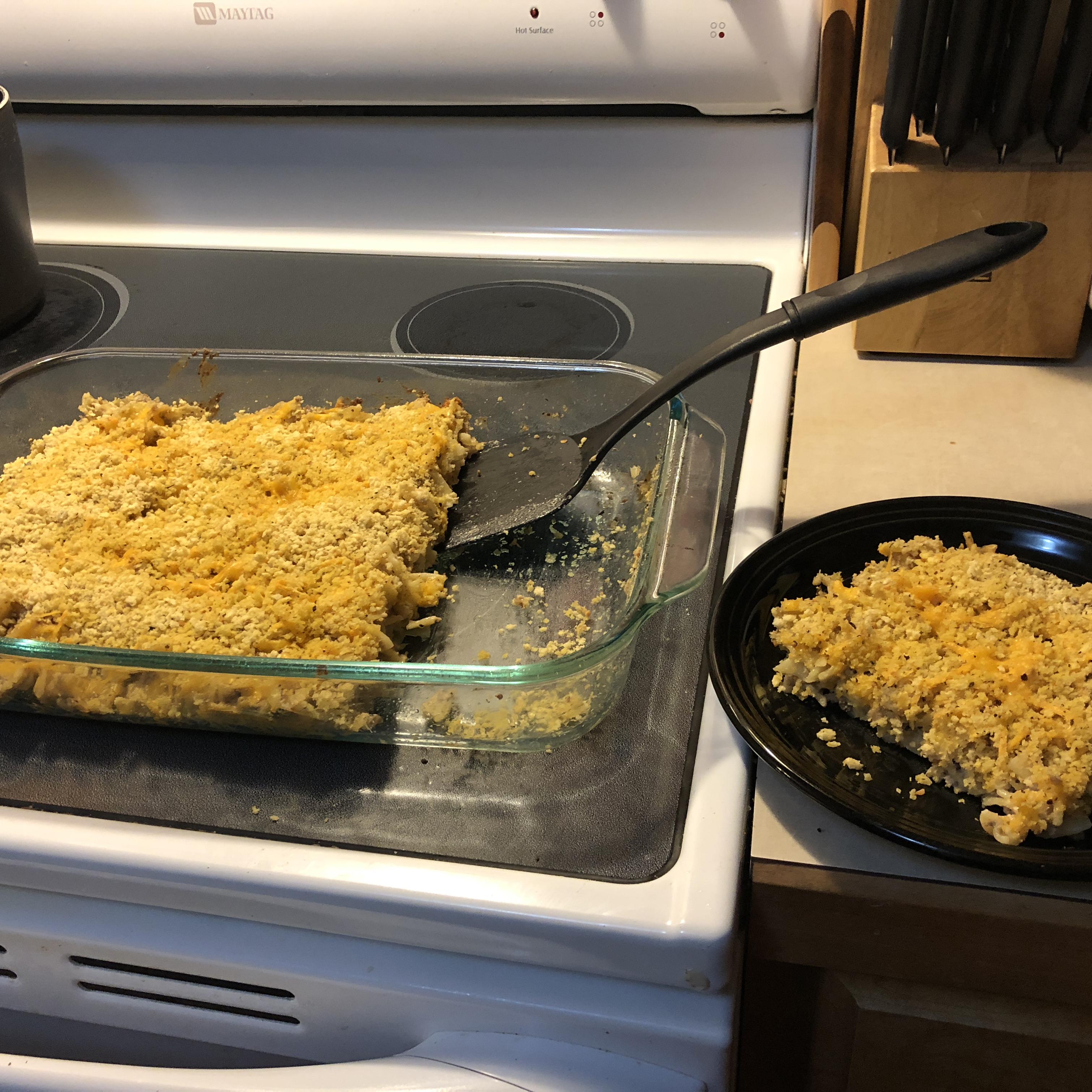 Cheesy Noodles Romanoff