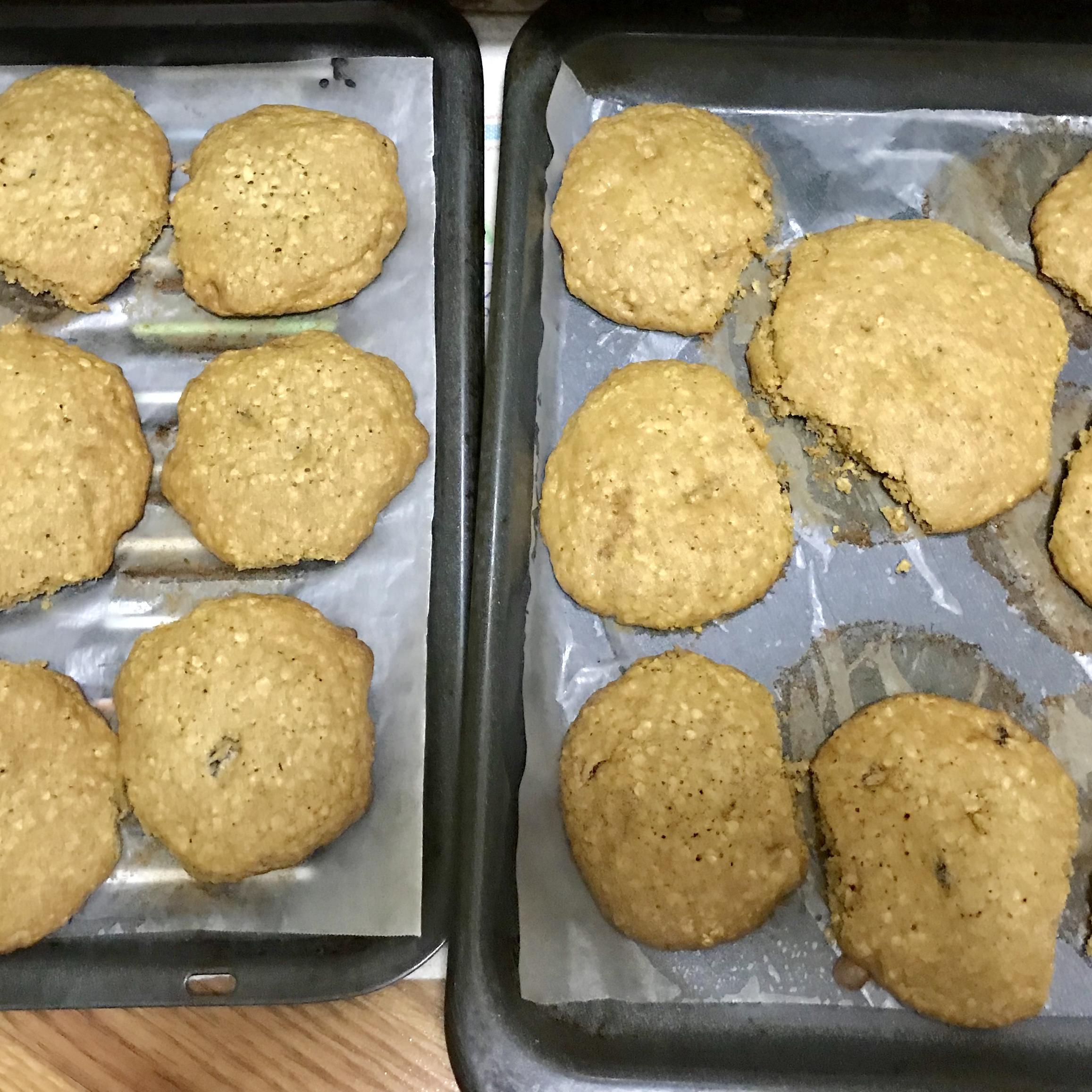 Vanishing Oatmeal Cookies milabang