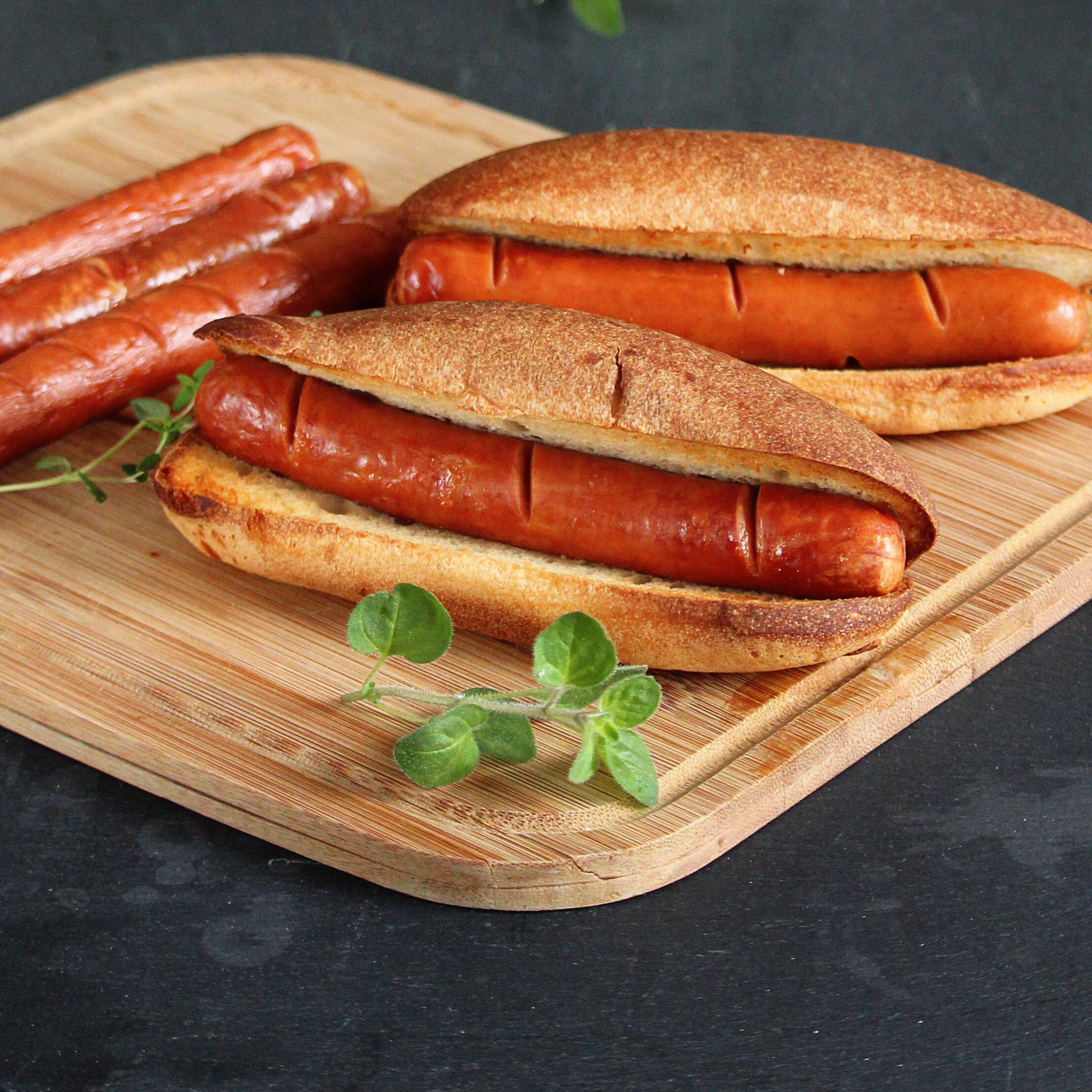 Basic Air Fryer Hot Dogs