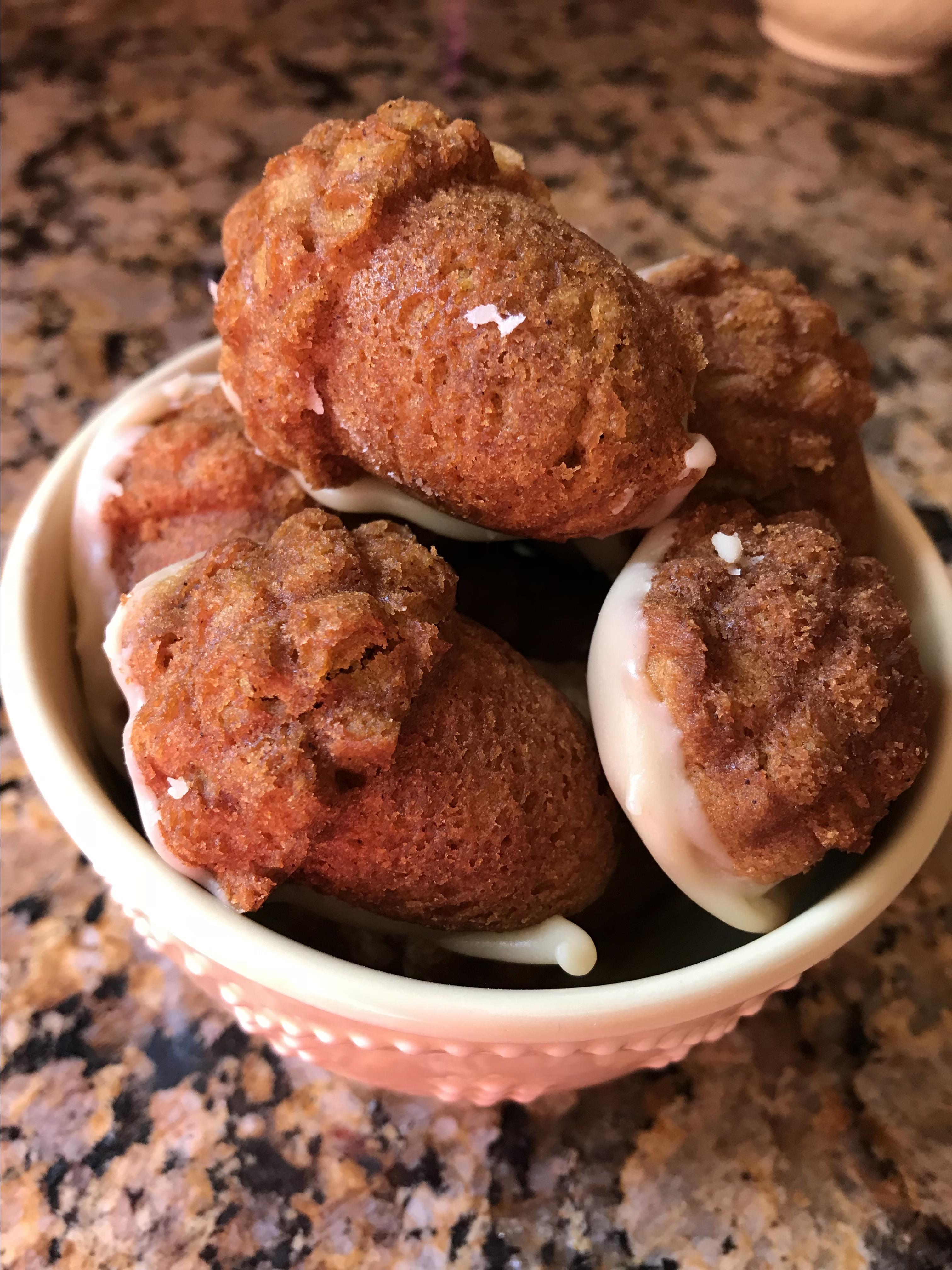 Pumpkin Cookies with Penuche Frosting Heather