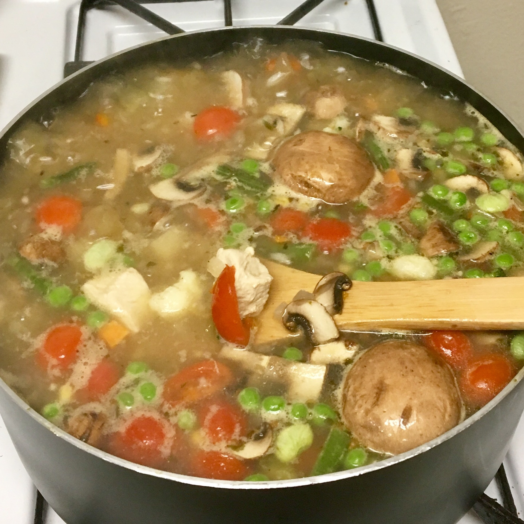Grandpa's Garden Chicken Soup my_day_2shine