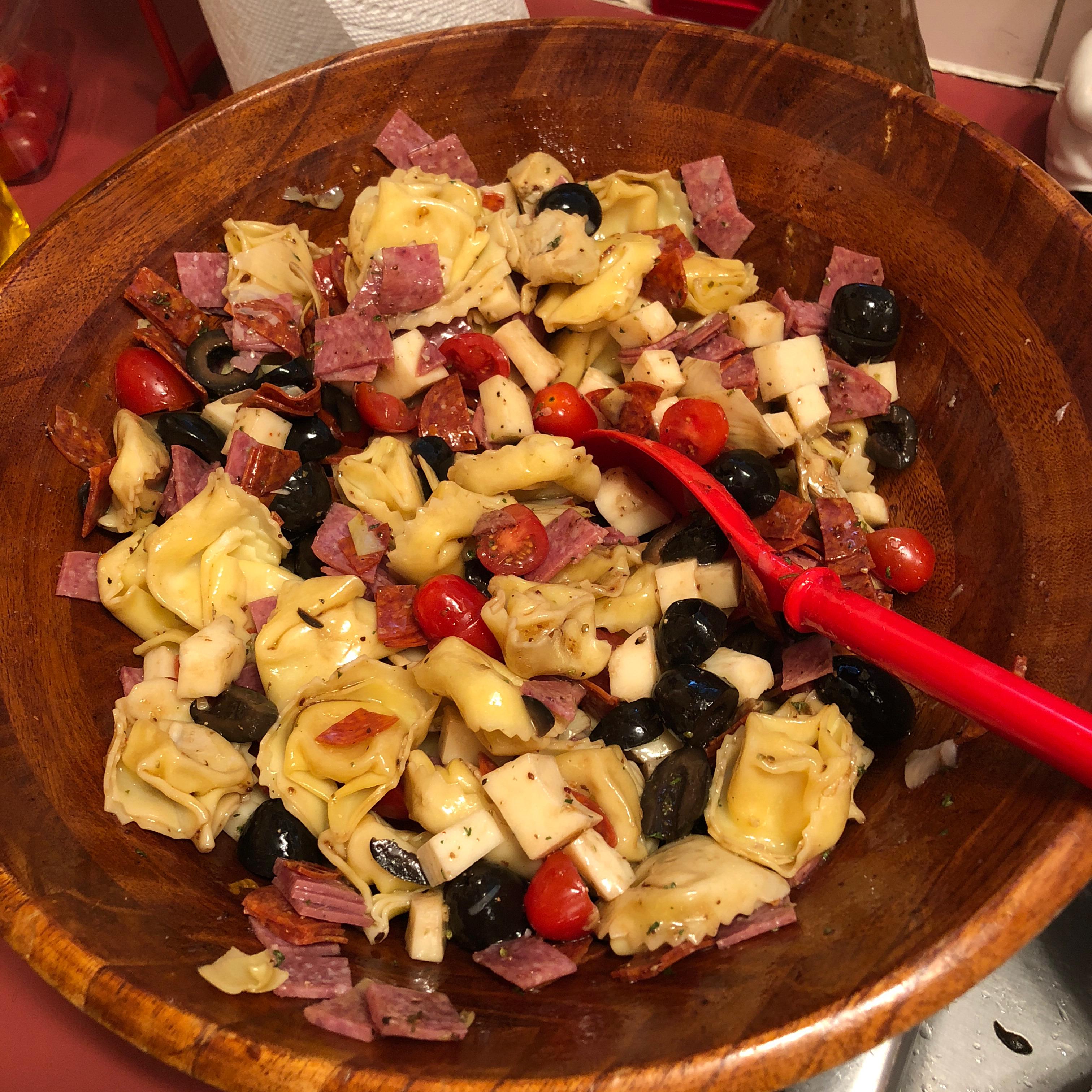 Antipasto Pasta Salad Elizabeth