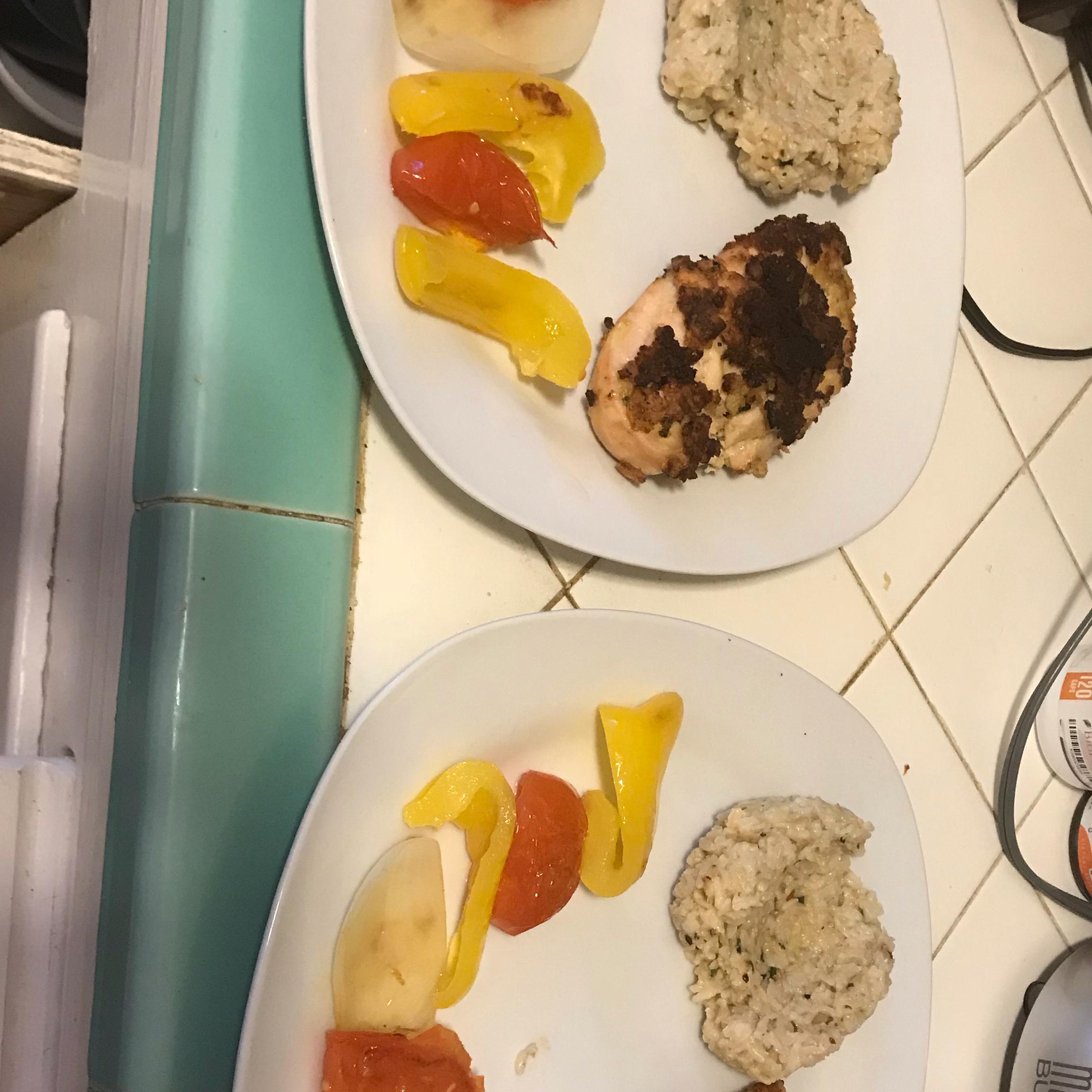 Mediterranean Crusted Chicken