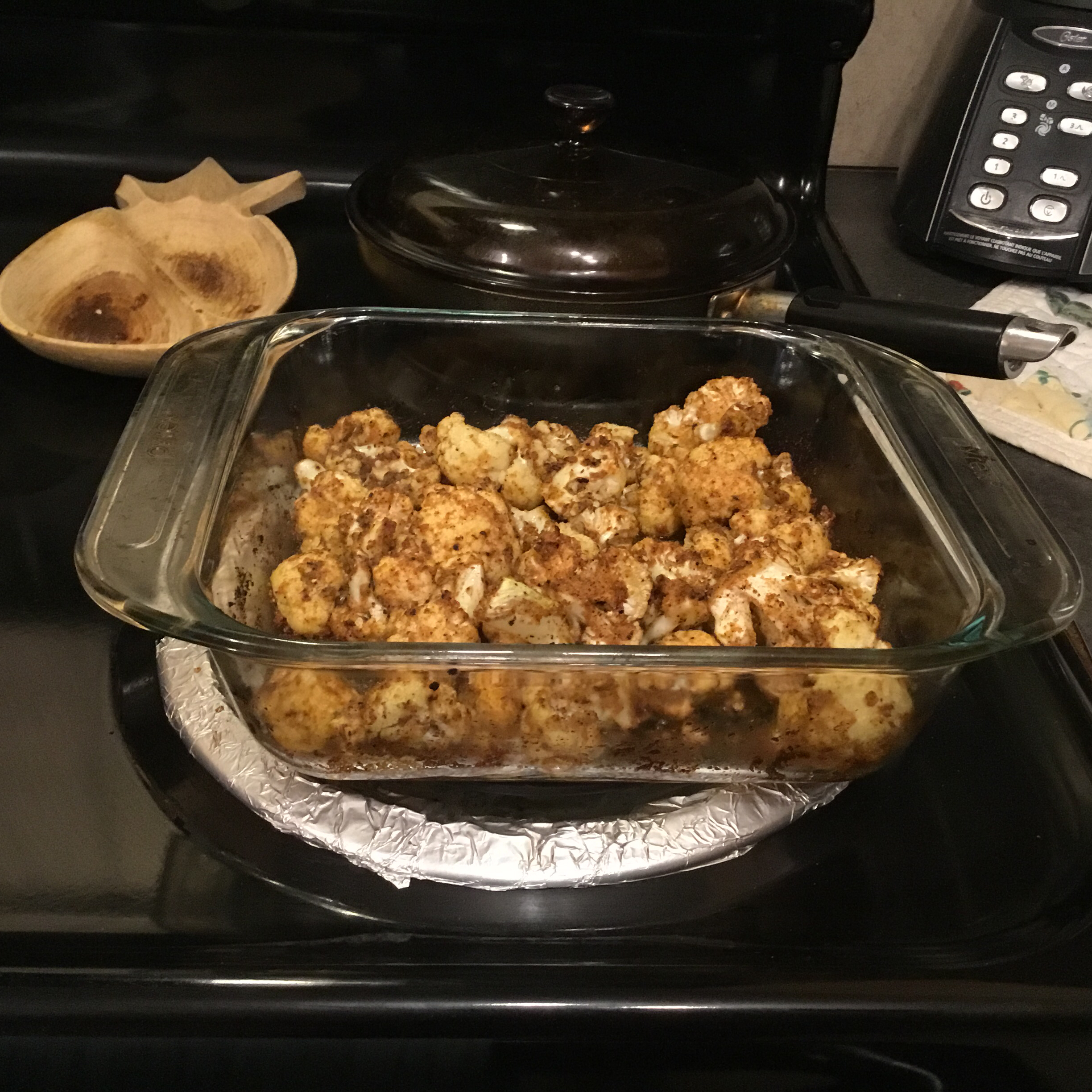 Roasted Cajun Cauliflower MsDee55