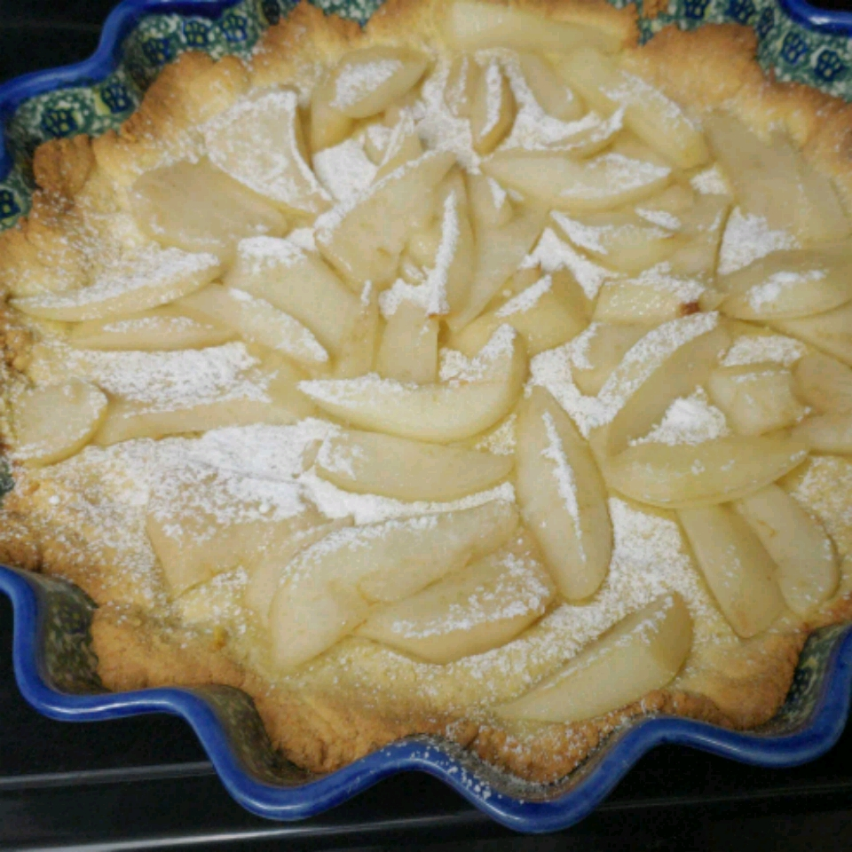 Pear and Almond Tart (Dairy- and Gluten-Free) ulka
