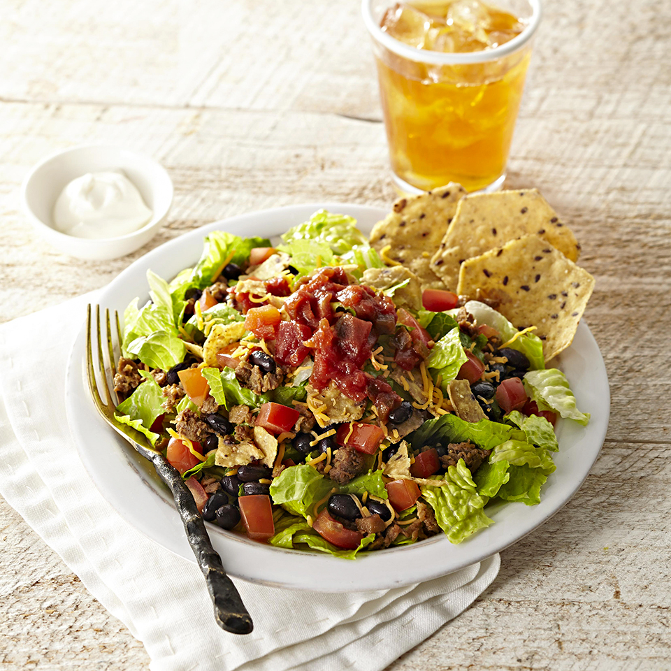 Easy Vegetarian Taco Salad Diabetic Living Magazine