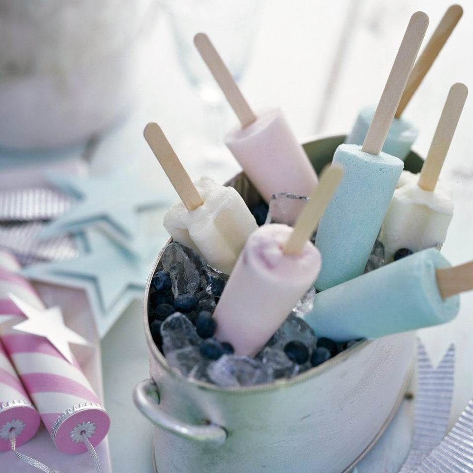 White Chocolate-Berry Pops Diabetic Living Magazine