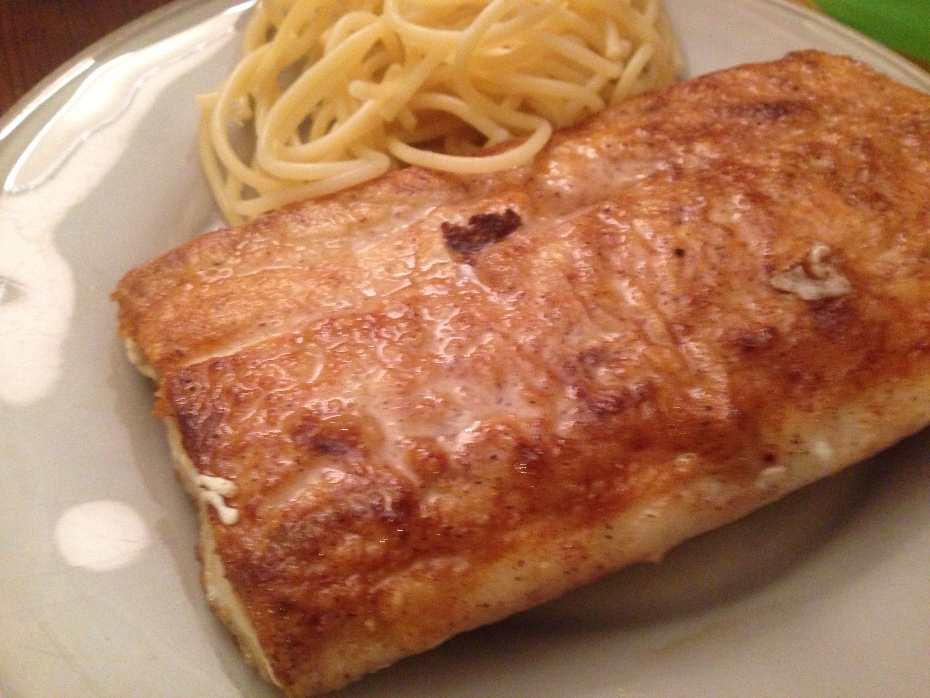 """""""This is a very easy method to make any type of fish fillets,"""" says Ursel. """"Choose mild-flavored fish -- flounder, halibut, cod, catfish, or tilapia are great candidates."""""""