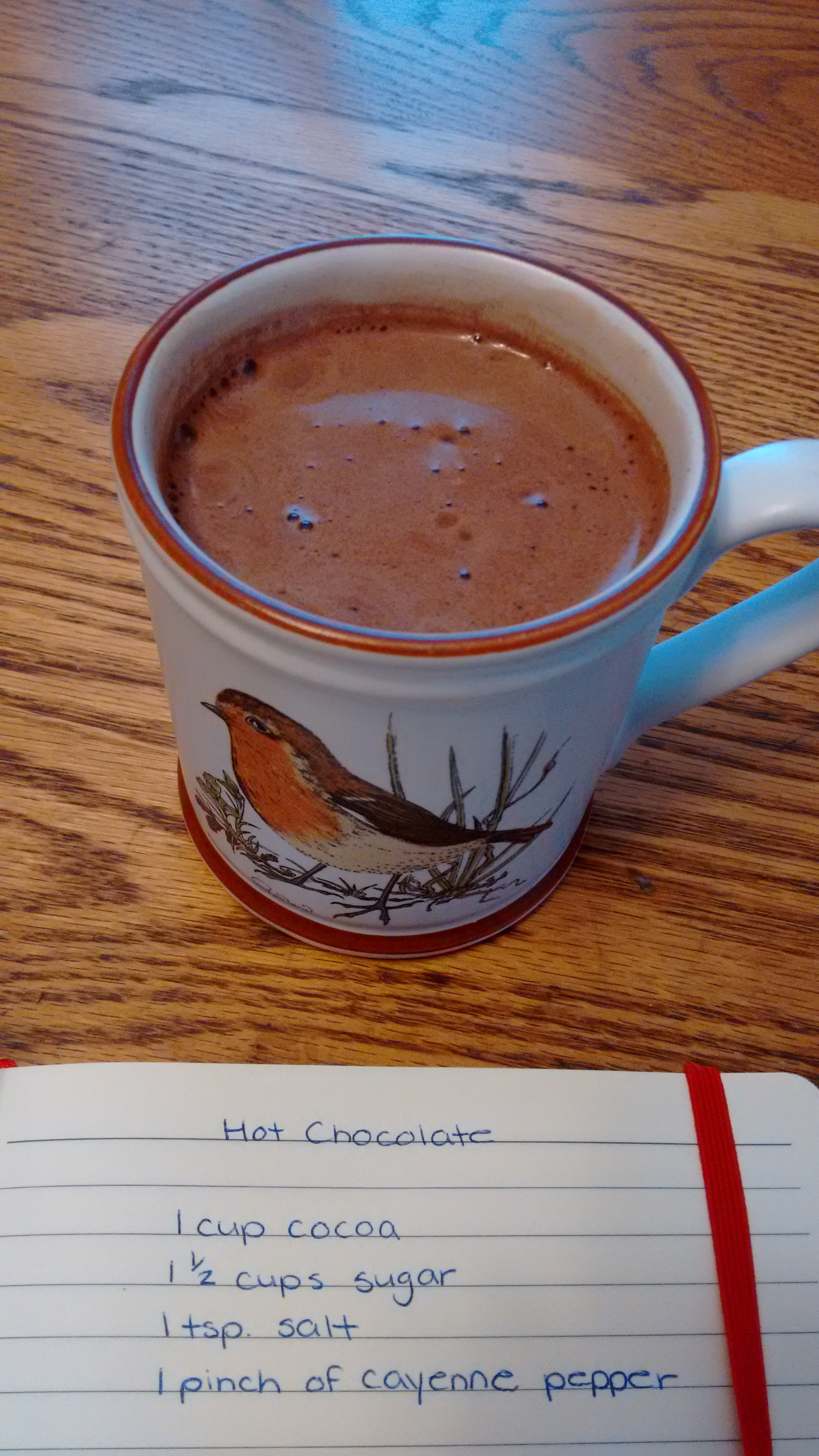 Homemade Instant Hot Chocolate Mix Janice Simms