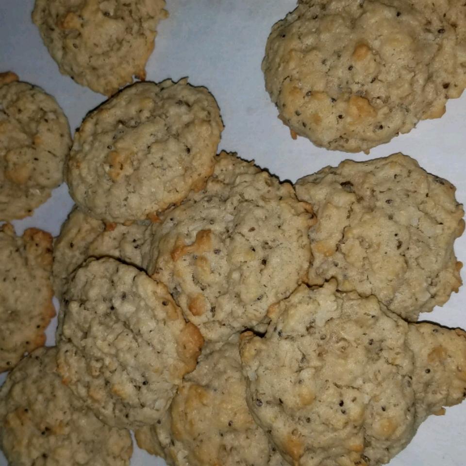 Coconut Oatmeal Cookies I kmm552
