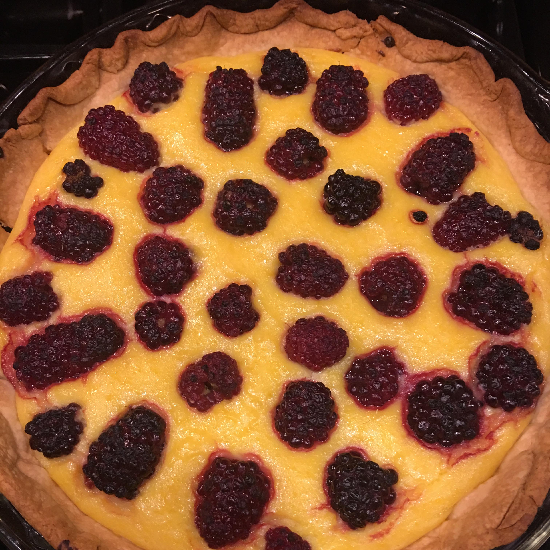 Blackberry-Mango Tart