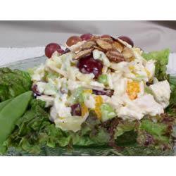 Wonderful Chicken Curry Salad