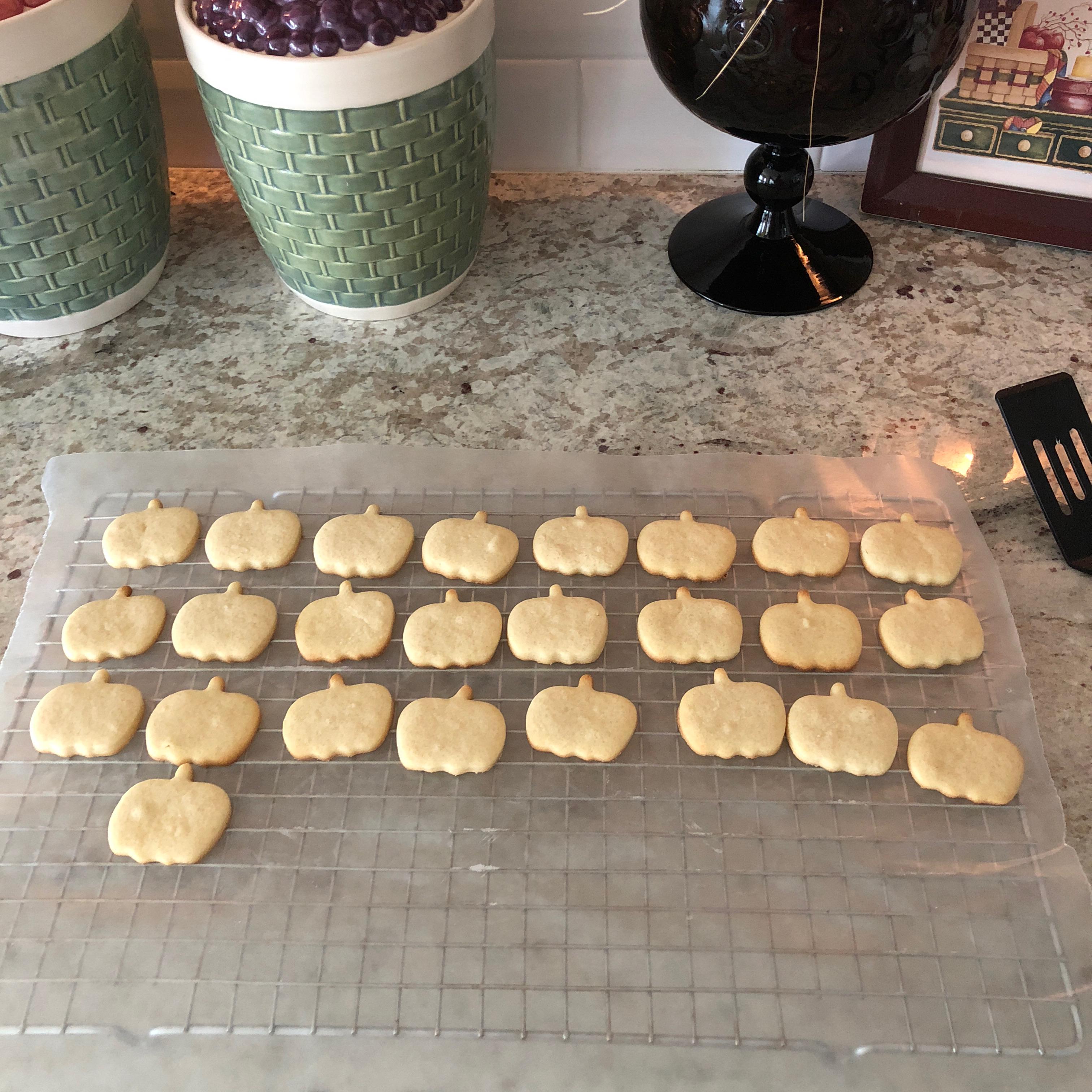 Cookie Mold Sugar Cookies