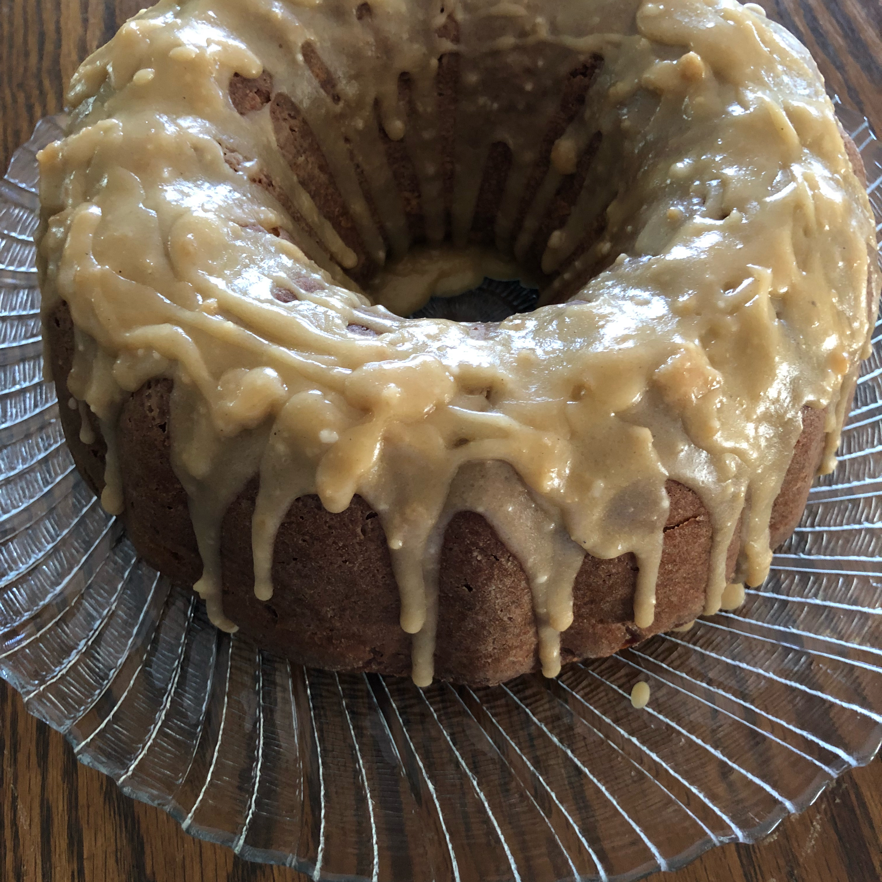 Apple Walnut Cake JAM