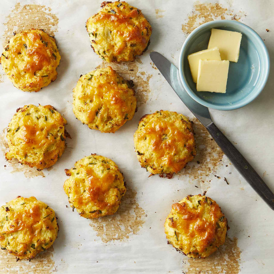 Cauliflower Cheddar Bay Biscuits Carolyn Casner