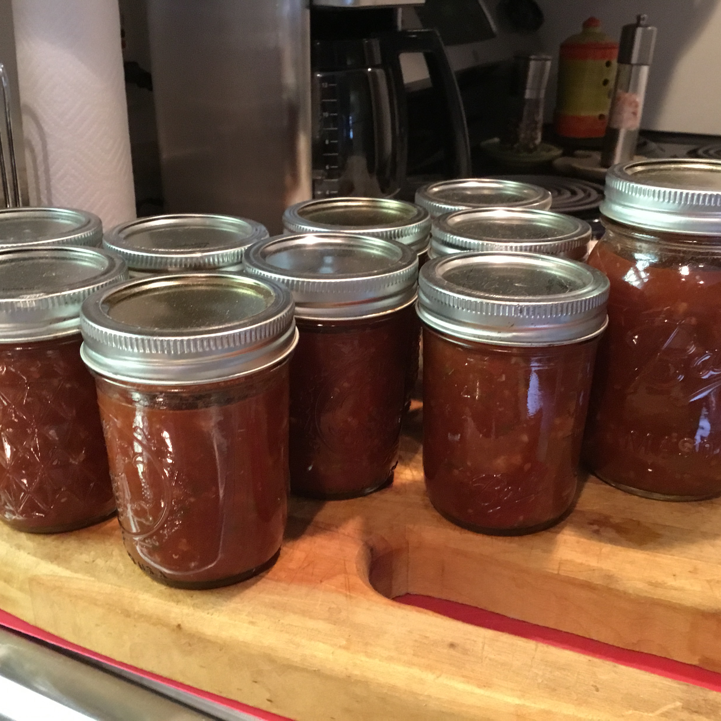 Spicy Tomato Jam Vicky Campbell