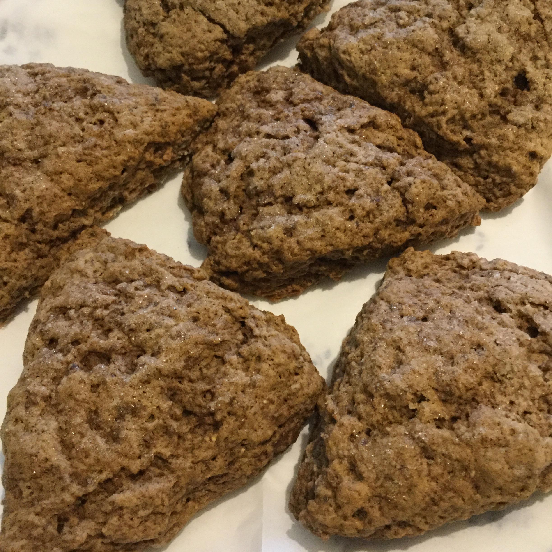 Vegan Gingerbread Scones Renee Hiller