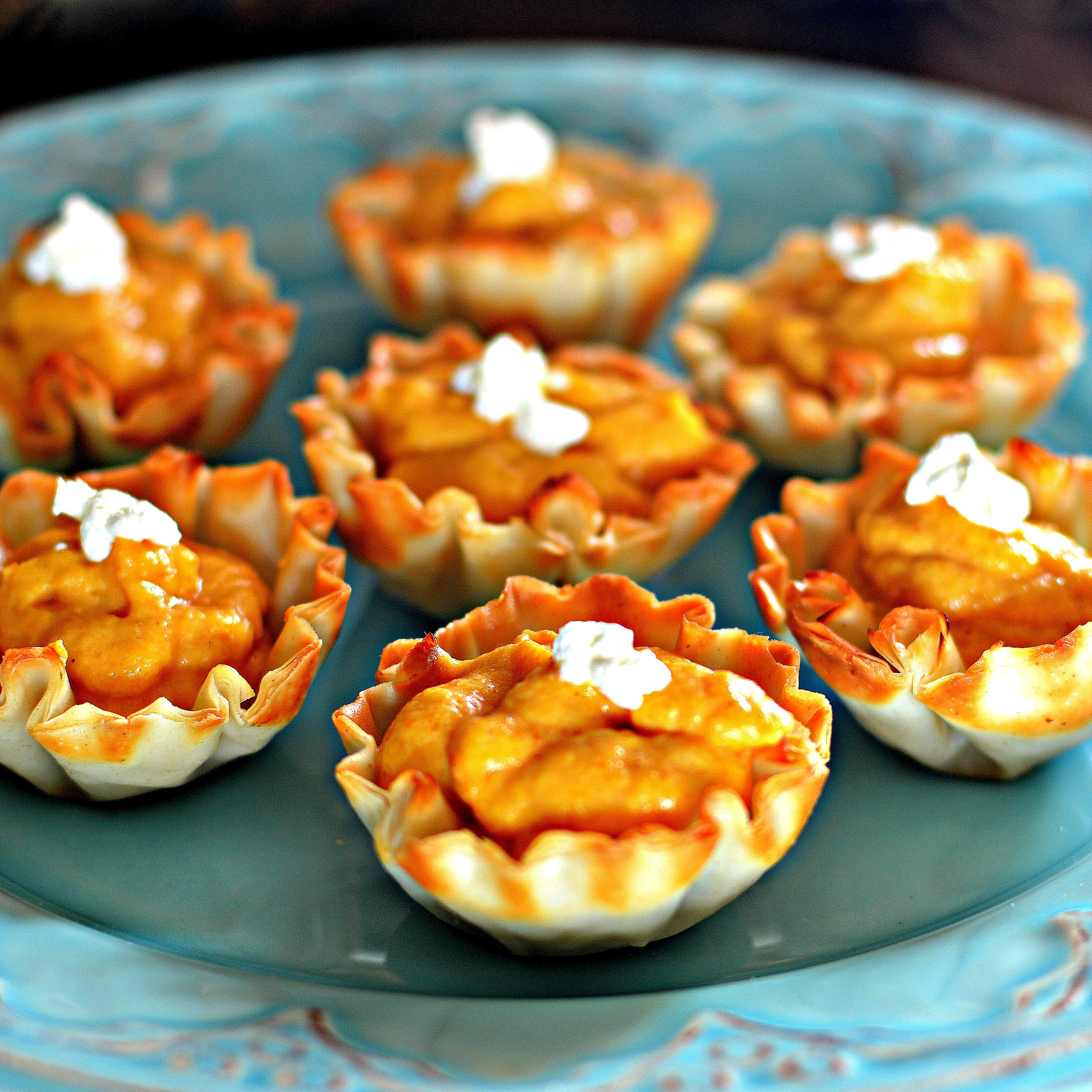 No-Bake Pumpkin Tarts