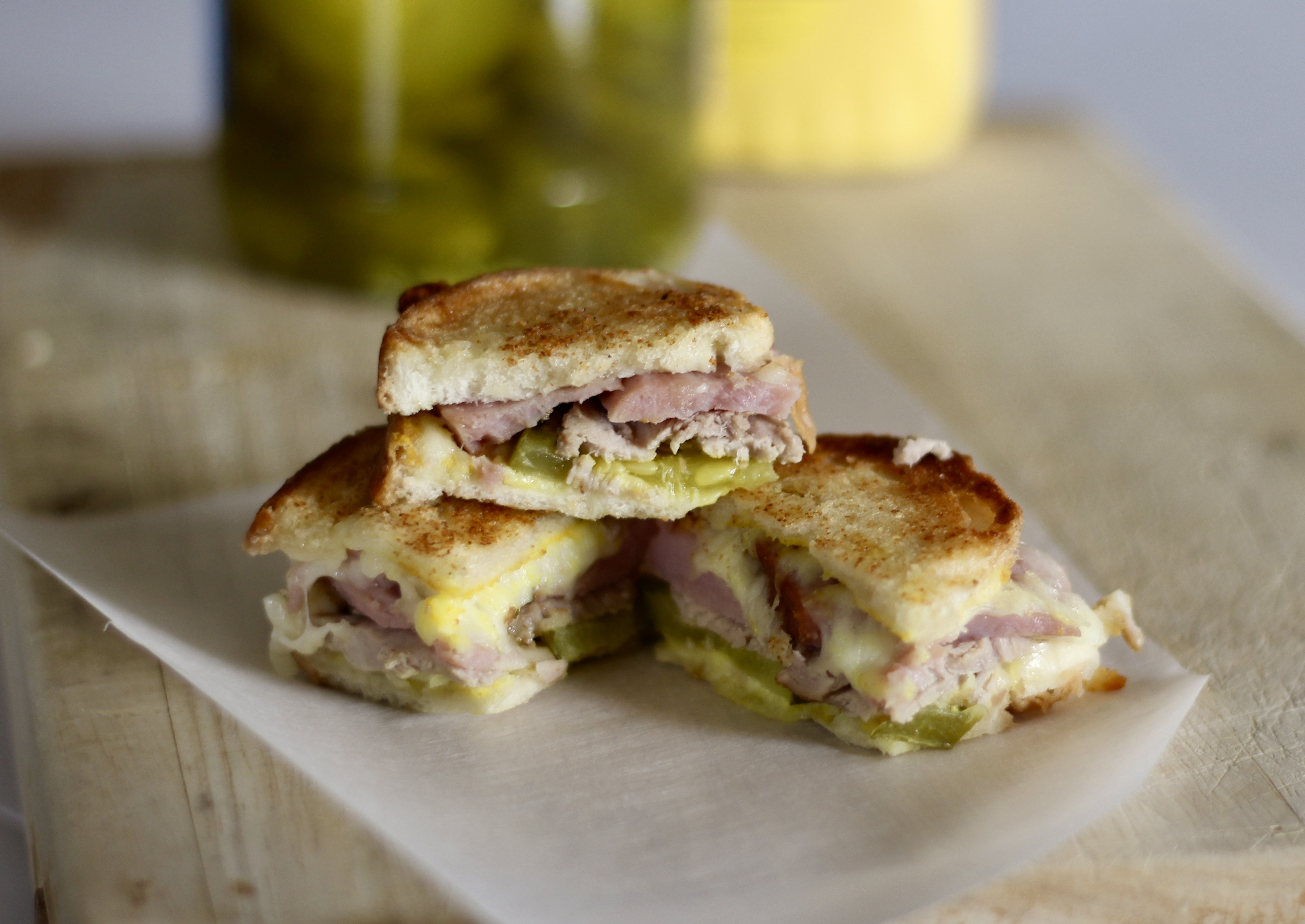 Cuban Sandwich Bites