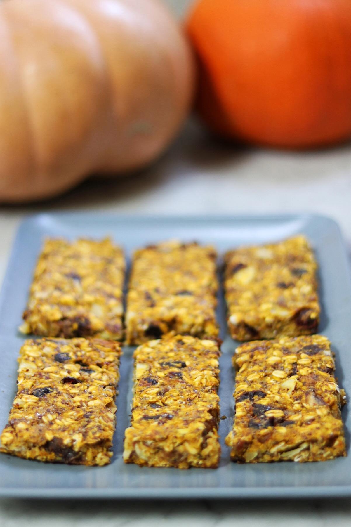 Gluten-Free Pumpkin Date Bars