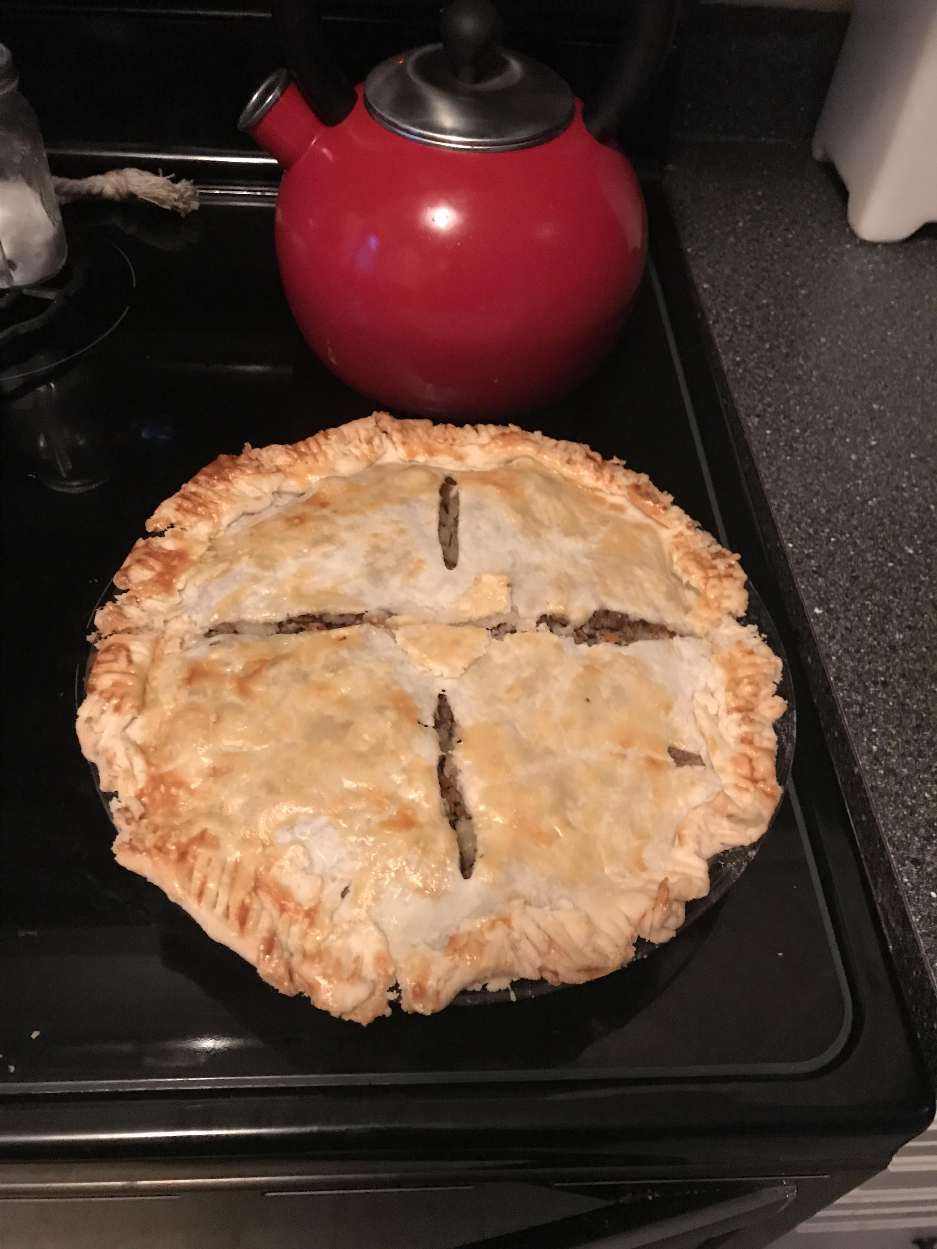 Tourtiere (Meat Pie) Dana Forester