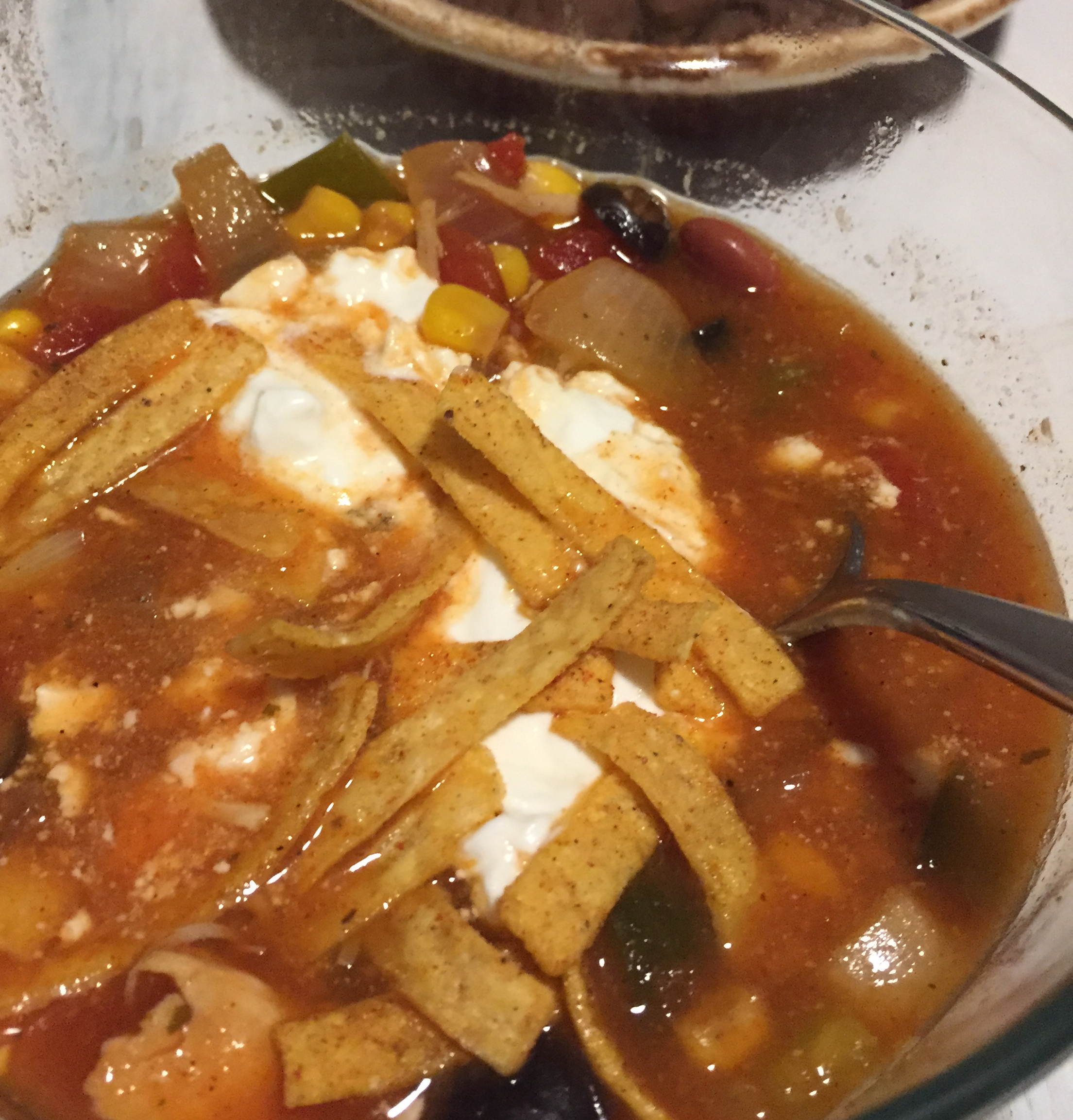 Slow Cooker Chicken Taco Soup jpfiedlersju