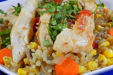 chicken and garlic recipe