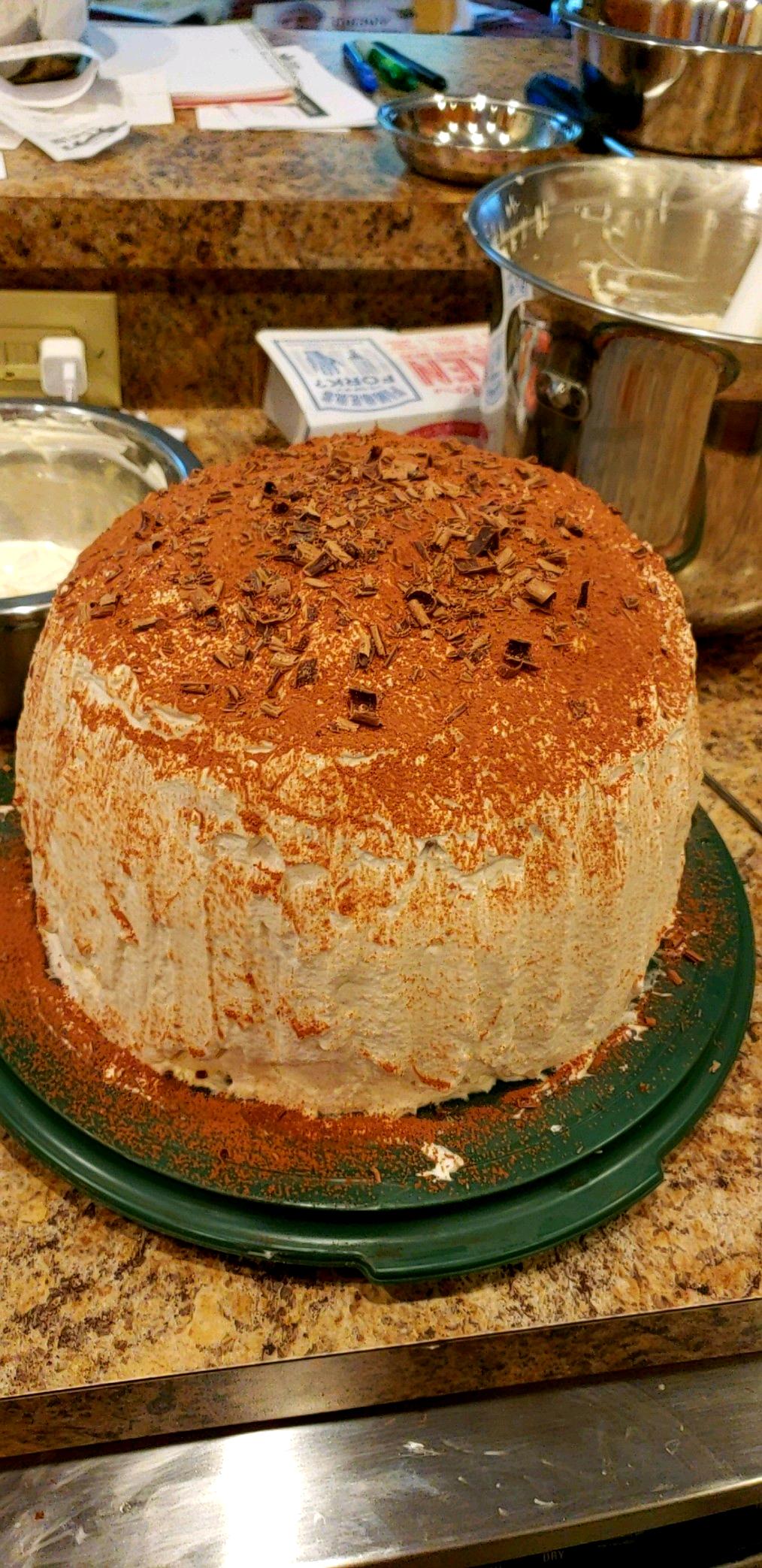 "Tiramisu Layer Cake Chris ""75tranzam"" Lee"