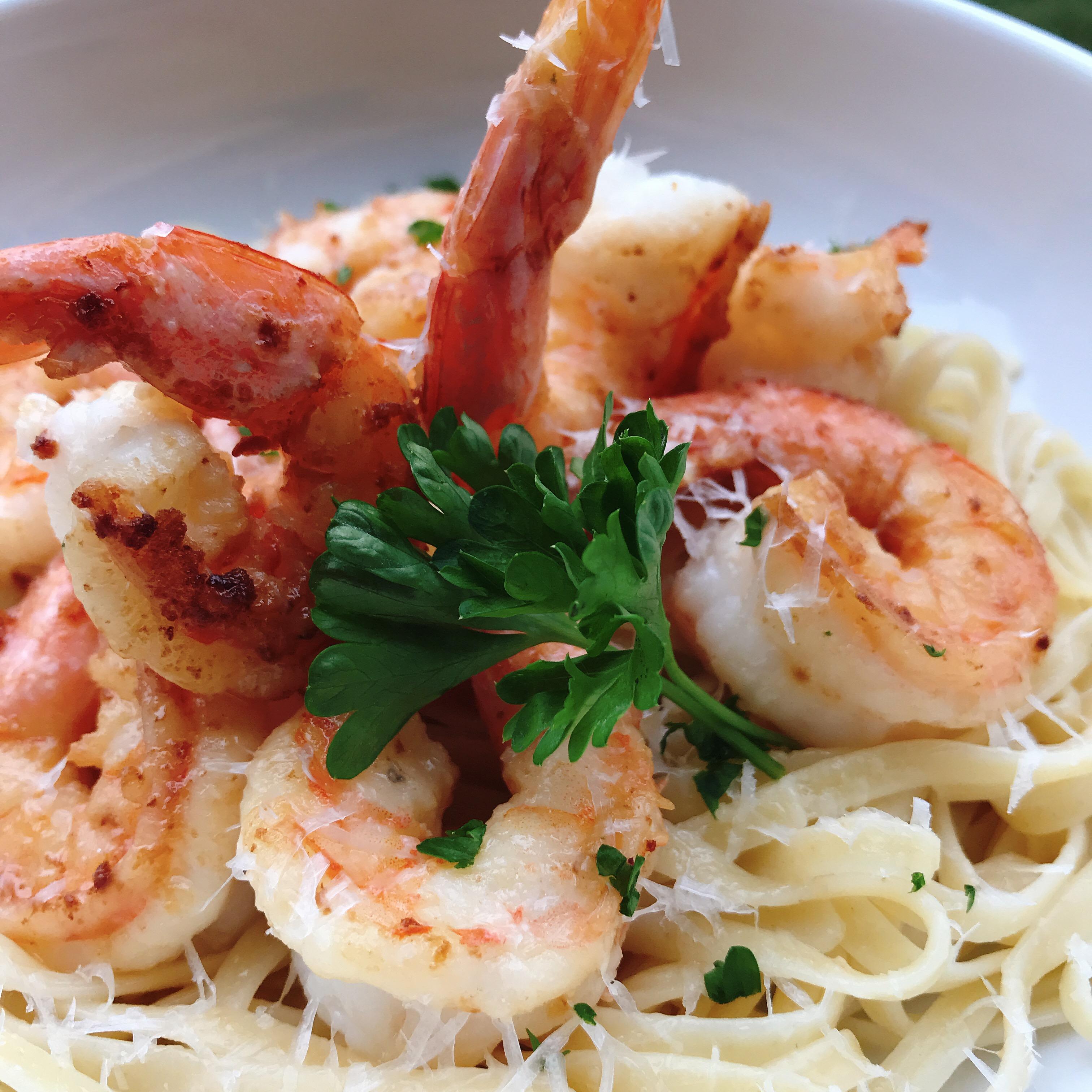 Creamy Shrimp Scampi with Half-and-Half image