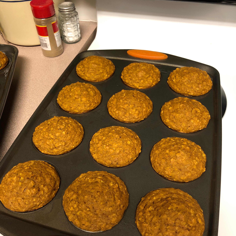 October Oatmeal Pumpkin Muffins Jami Johnson Miller