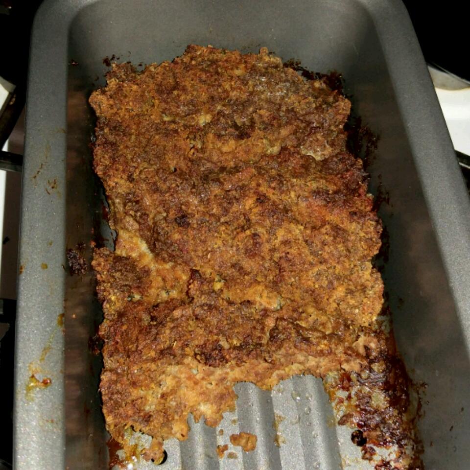 Upside-Down Barbeque Meatloaf James Jones