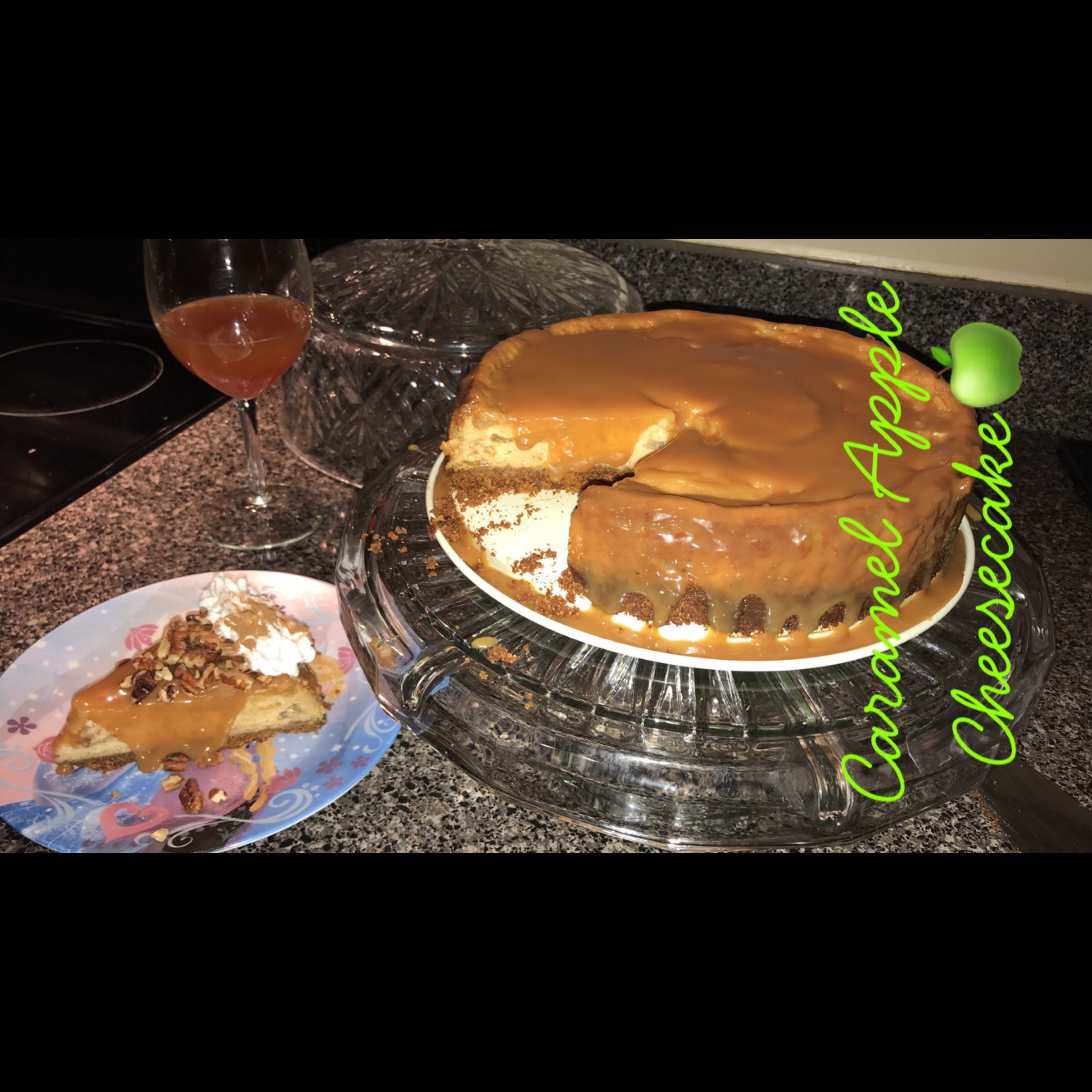 Fresh Caramel Apple Cheesecake corazon79