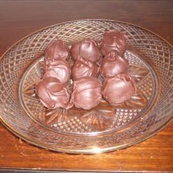Frozen Chocolate Chip Cookie Dough Balls