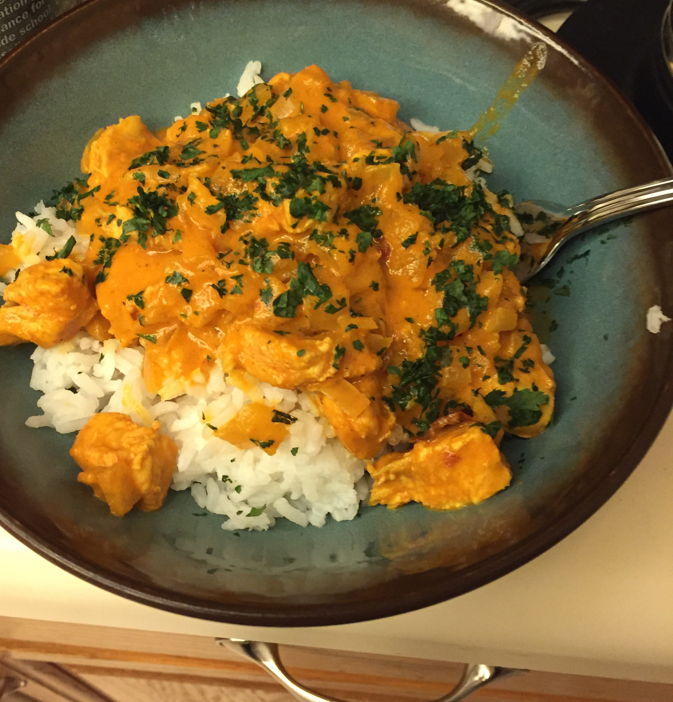 Easy Indian-Style Chicken Caitlin Nugent