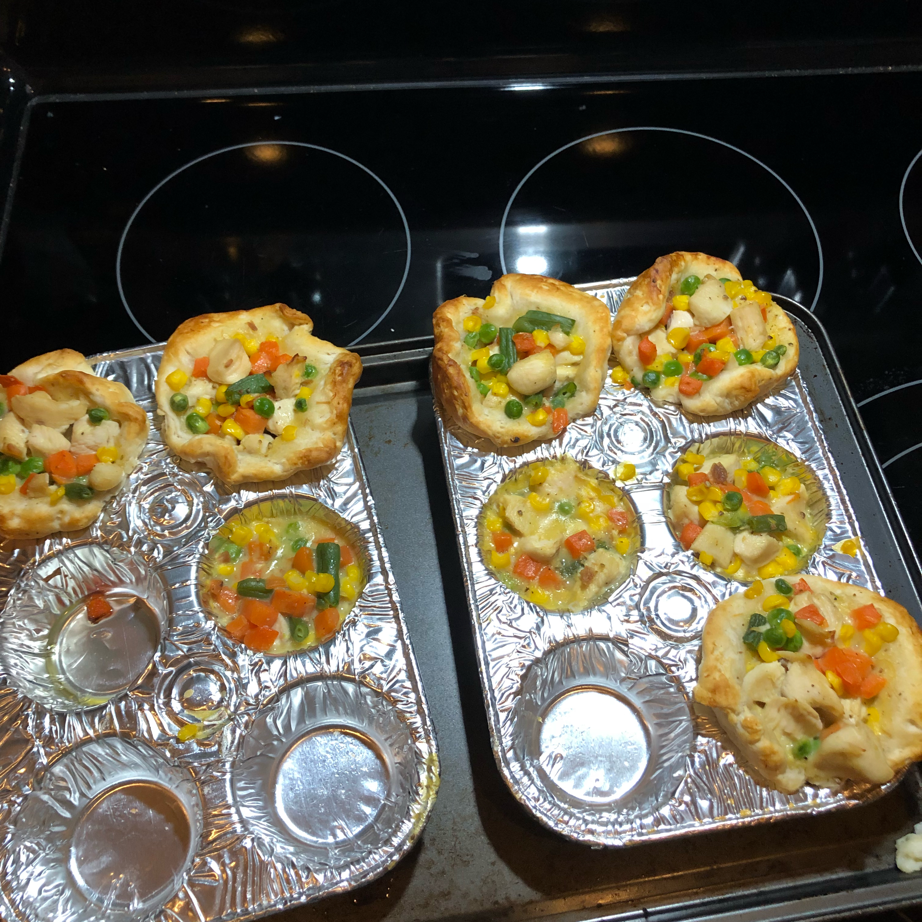 Grands!® Mini Chicken Pot Pies Amy Maziejka