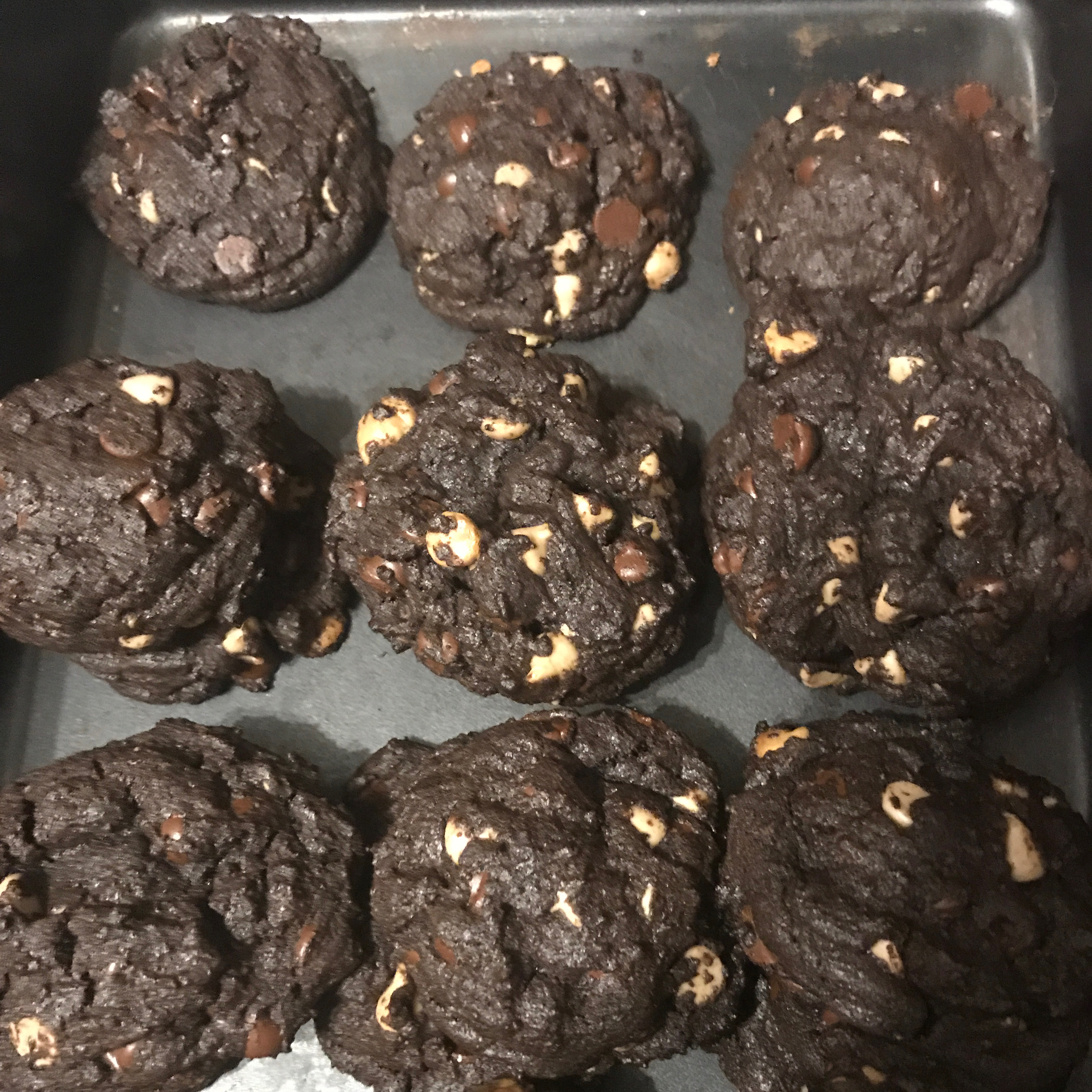 Great Chocolate Chocolate Chip Cookies muckymuck