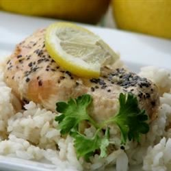 Slow Cooker Lemon Garlic Chicken II