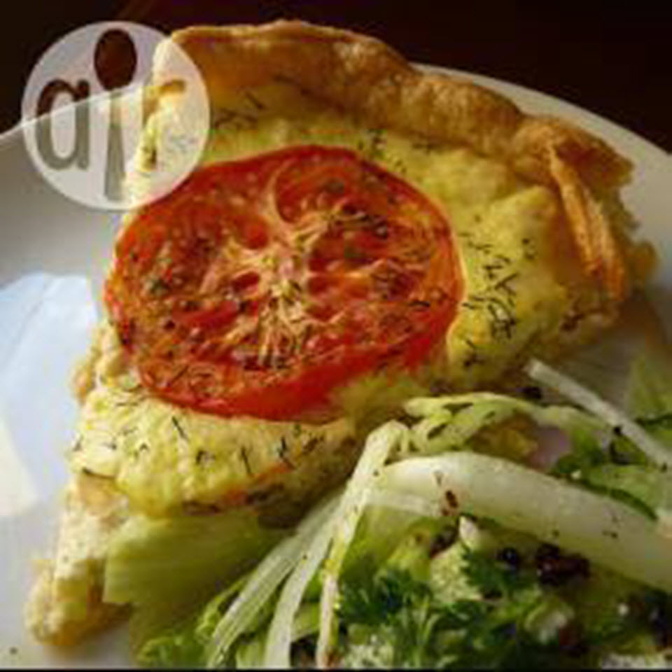 Puff Pastry Quiche with Tuna