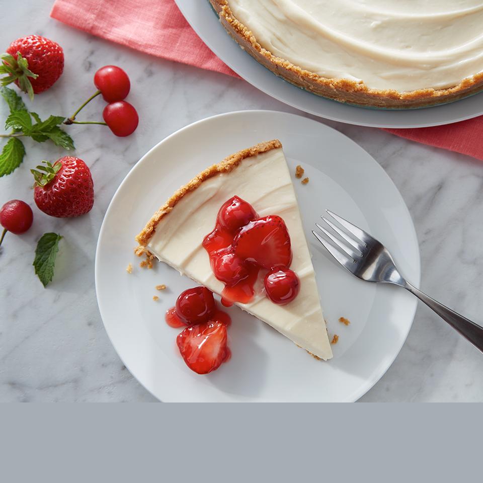 No-Bake Cherry Berry Cheesecake Dessert