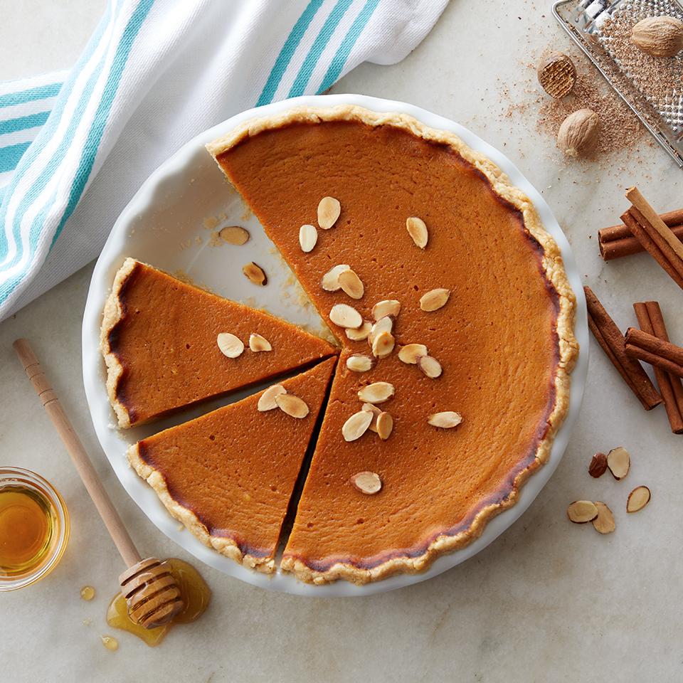 Dairy-Free Honey Pumpkin Pie